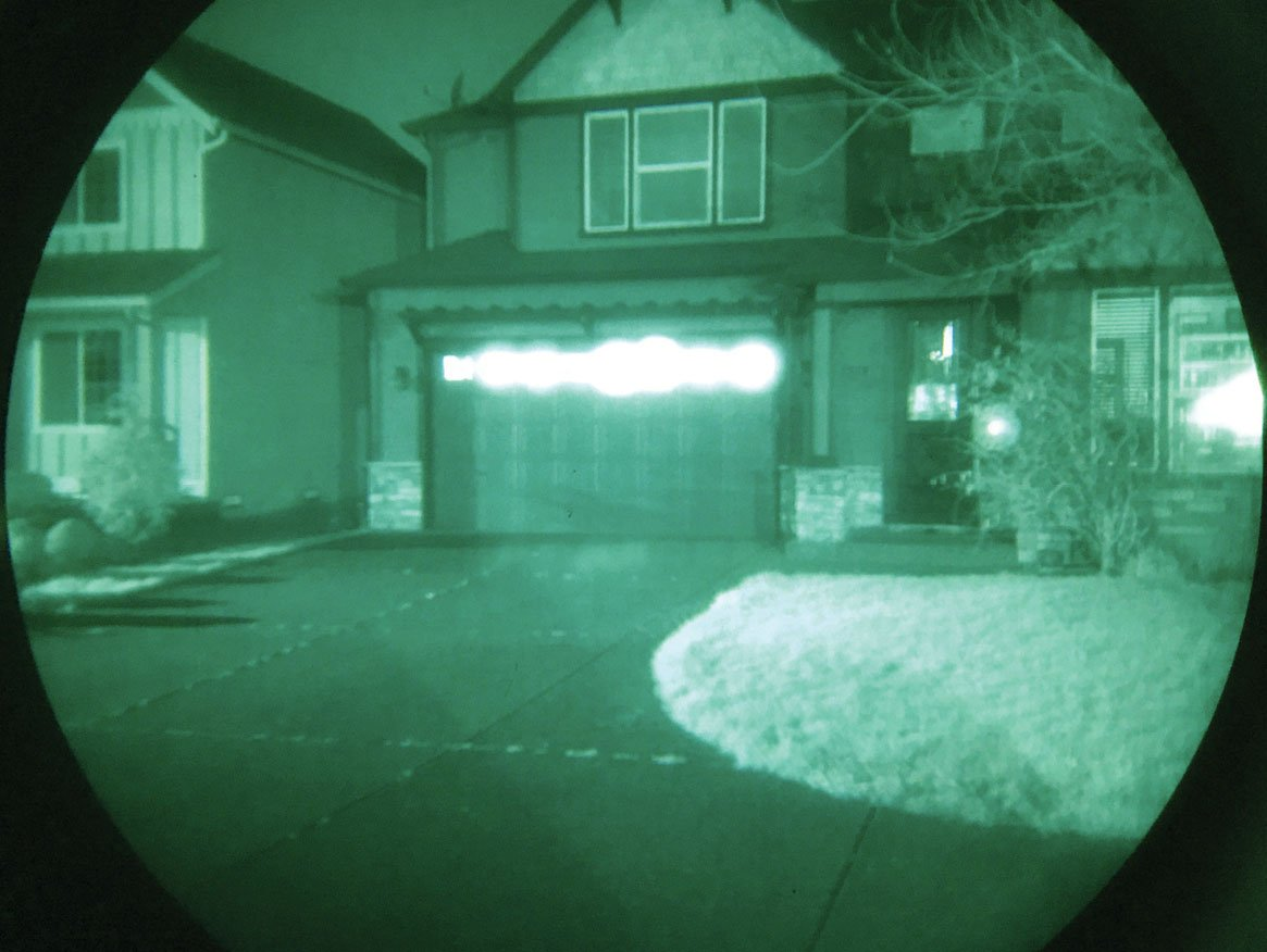 night vision view