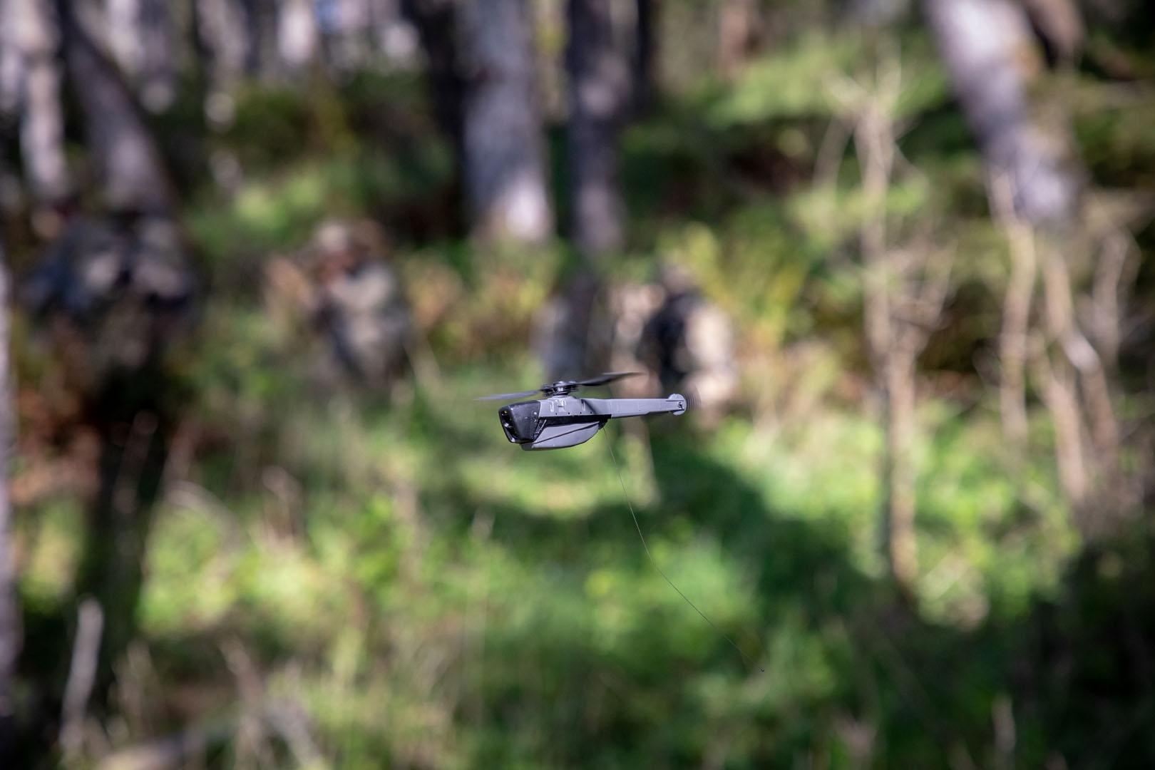 Black Hornet Prs Airborne Personal Reconnaissance System