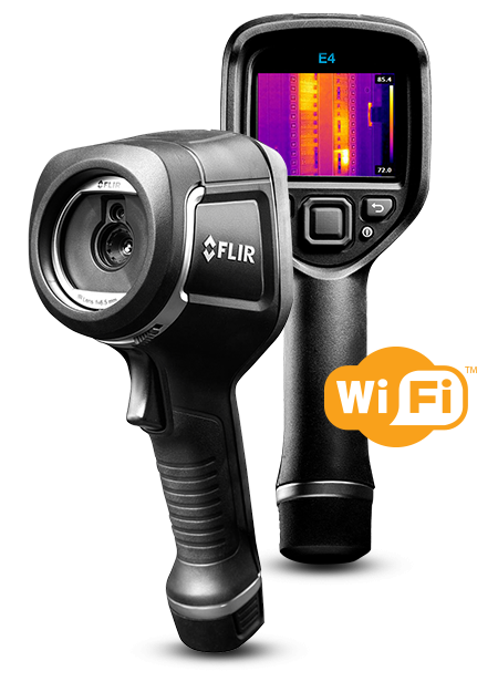 FLIR E4, E5, E6, and E8 Infrared Cameras with MSX®