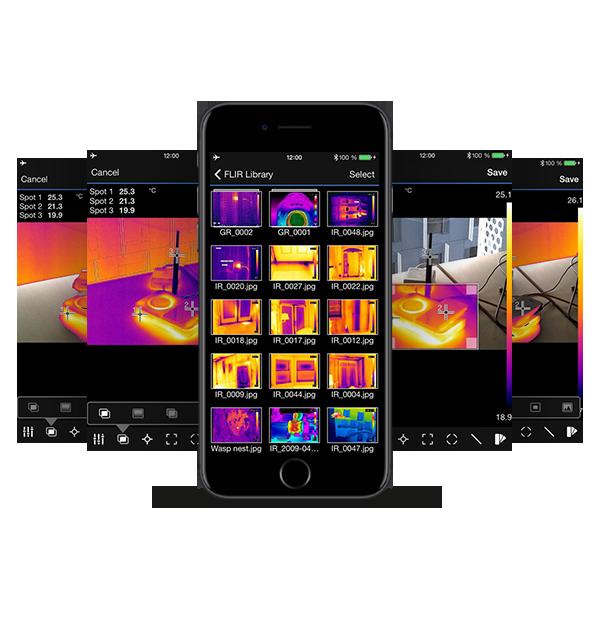 FLIR Tools App