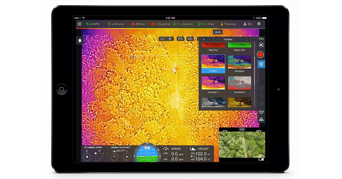 FLIR Announces DroneSense-FLIR Edition Drone Flight Management