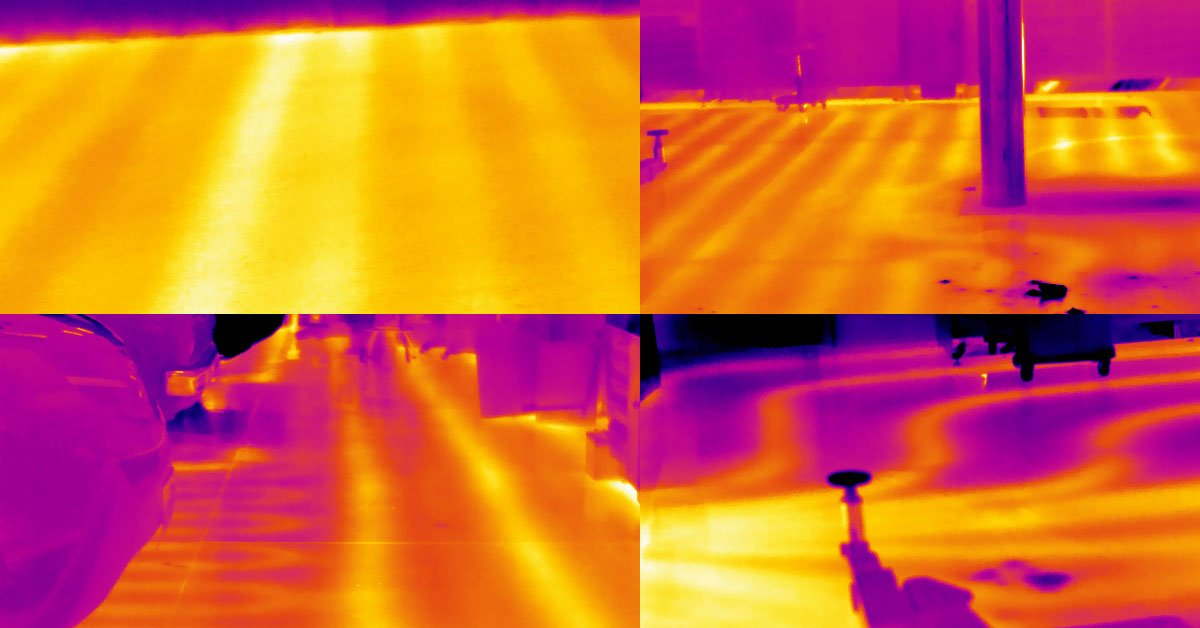 How To Find Leaks In Concrete Using A Flir Thermal Imaging