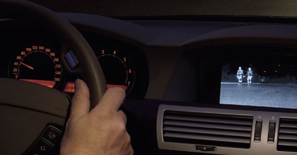 Bmw Incorporates Thermal Imaging Cameras In Its Cars Flir Systems