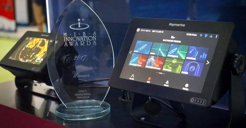Raymarine Axiom Wins Innovation Award at 2017 Miami